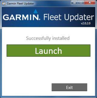 Fleetupdater launch