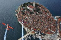 Red Bull Air Race Pilots get early glimpse of Rovinj before the race weekend