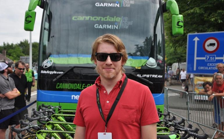 Garmin Tour de France competition winner