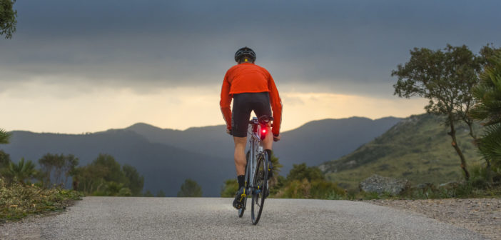 The Varia RTL510 rearview radar from Garmin helps cyclists stand out, day or night and on any ride